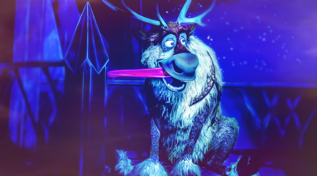 Sven from Frozen Ever After attraction at Epcot – Keys to the Magical Kingdom